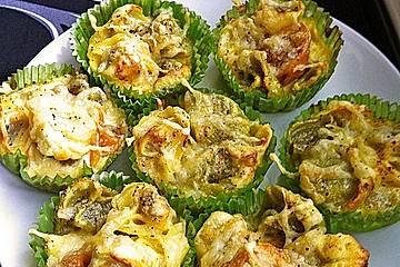 Tortellini - Muffins (herzhaft)