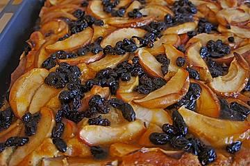 Sächsischer Apfelkuchen