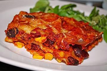 Lasagne mexikanische Art