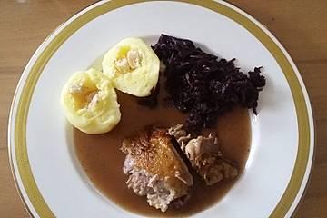 Fruchtiger Rotkohl mit Portwein