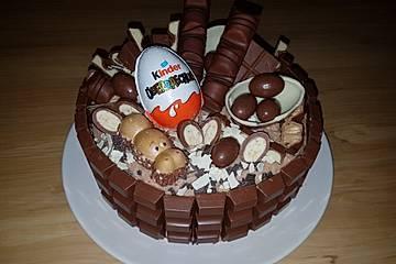 Überraschungsei Torte