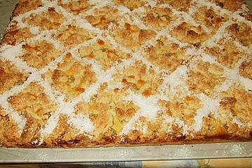 Stachelbeer - Kokos - Kuchen