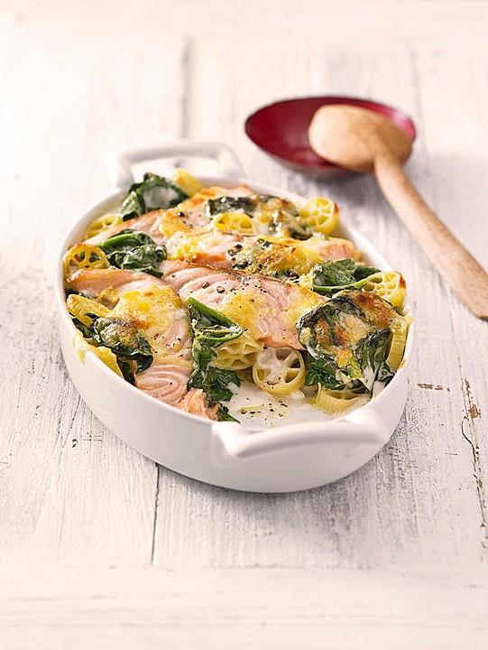 Fisch spinat rezept kalorienarm