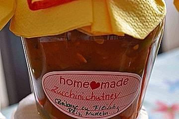 Zucchini - Chutney von Rosinenkind