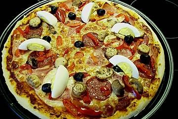 Pizzateig (Grundrezept)
