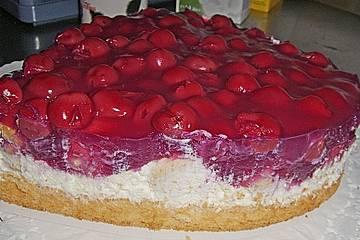 Kirsch - Sahne - Schmand Kuchen