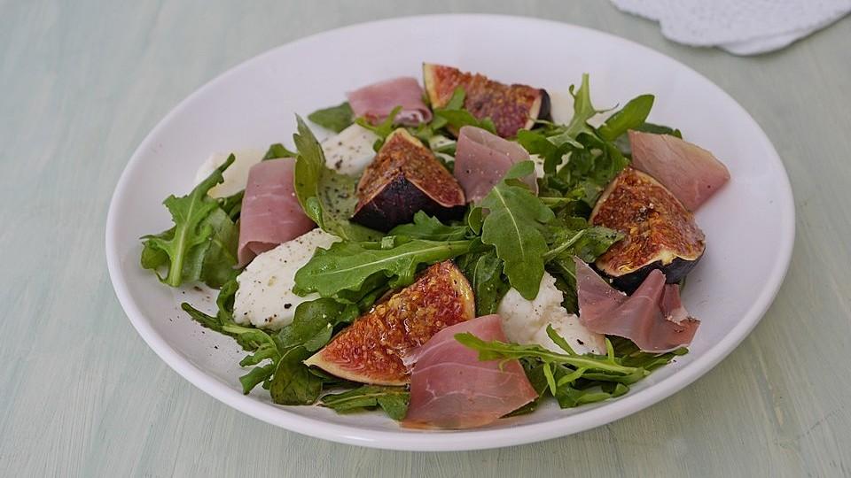 Rucola - Salat mit Feigen von missoliver | Chefkoch