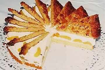 Windmühlen -  Bienenstich - Torte