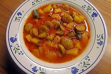Schmuddelwetter-Suppe